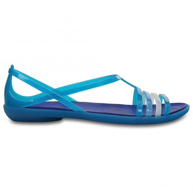 402f1f693c66 Crocs 202465 ISABELLA SANDAL Strappy Sandals Turquoise Cerulean Blue ...