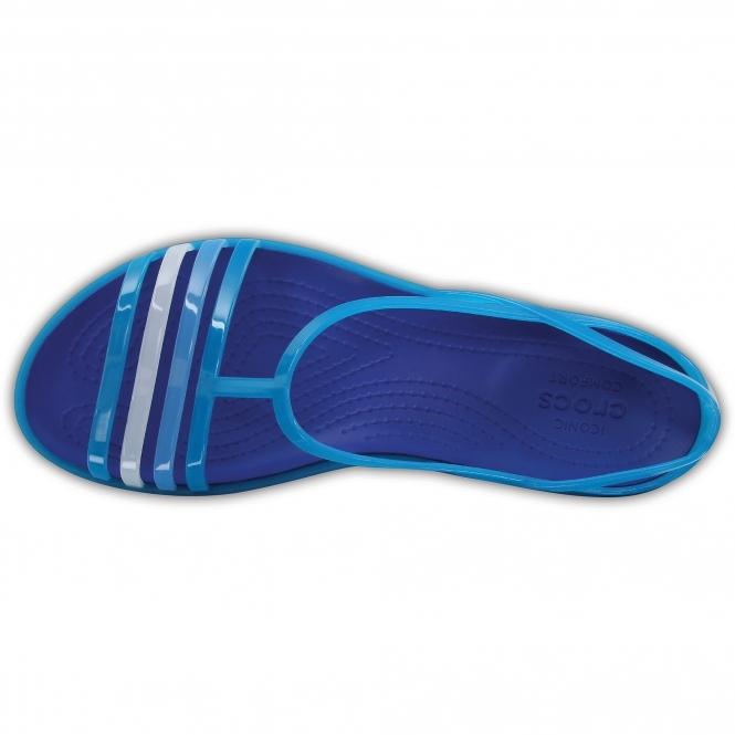 0dfe7acc3 Crocs 202465 ISABELLA SANDAL Strappy Sandals Turquoise Cerulean Blue ...