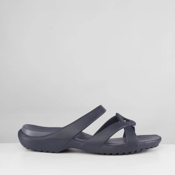 61ef04b1ccf6 Crocs 202497 MELEEN TWIST Ladies Mule Sandals Navy Storm