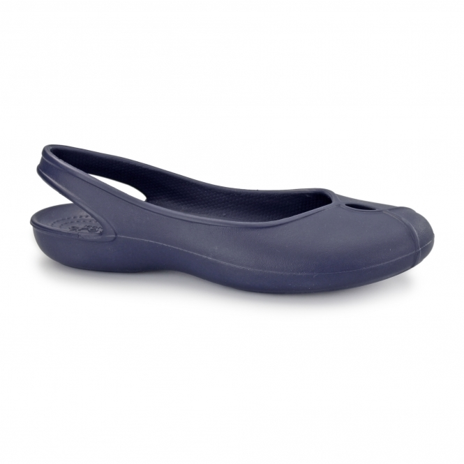 494161fd0dae5b Crocs 202826 OLIVIA II Ladies Slingback Shoes Navy