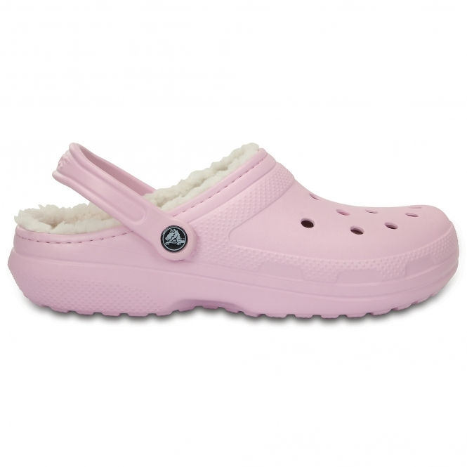 84275110c Crocs CLASSIC LINED C203591 Clogs Ballerina Pink Oatmeal
