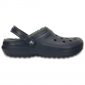 24aabed1b Crocs 203591 Clogs Navy Charcoal. Crocs 203591 CLASSIC LINED Unisex ...