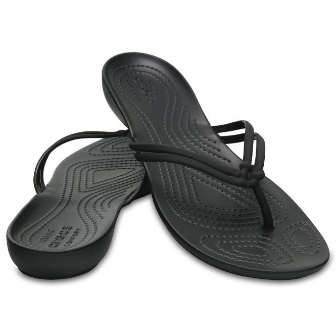 bb0ef93f6 Crocs ISABELLA T-STRAP SANDAL Ladies Gladiator Sandals Black
