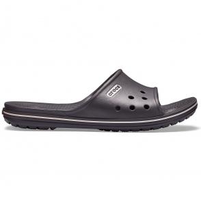 b6213cac2e4b Crocs 204108 CROCBAND SLIDE Slider Mules Black Graphite