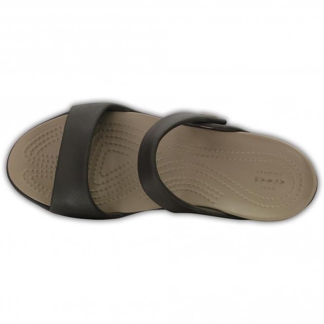 oficjalne zdjęcia dostępność w Wielkiej Brytanii styl mody 204268 CLEO V Ladies Sandals Espresso/Mushroom