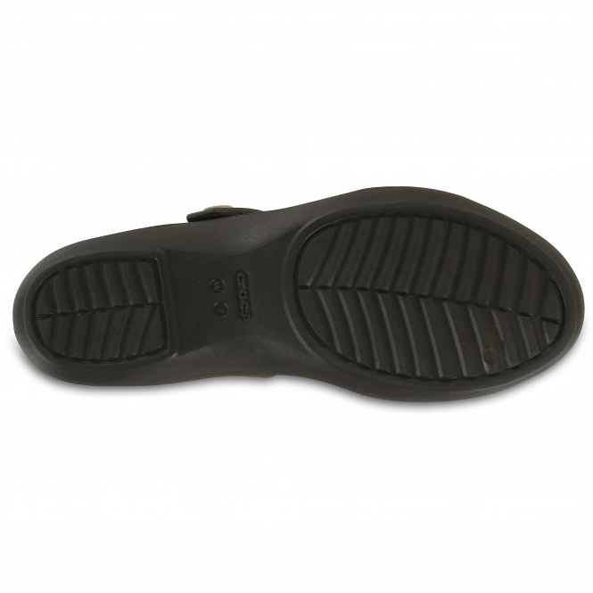 4f115b0a1212 Crocs CLEO V Ladies Slip-On Sandals Espresso Mushroom