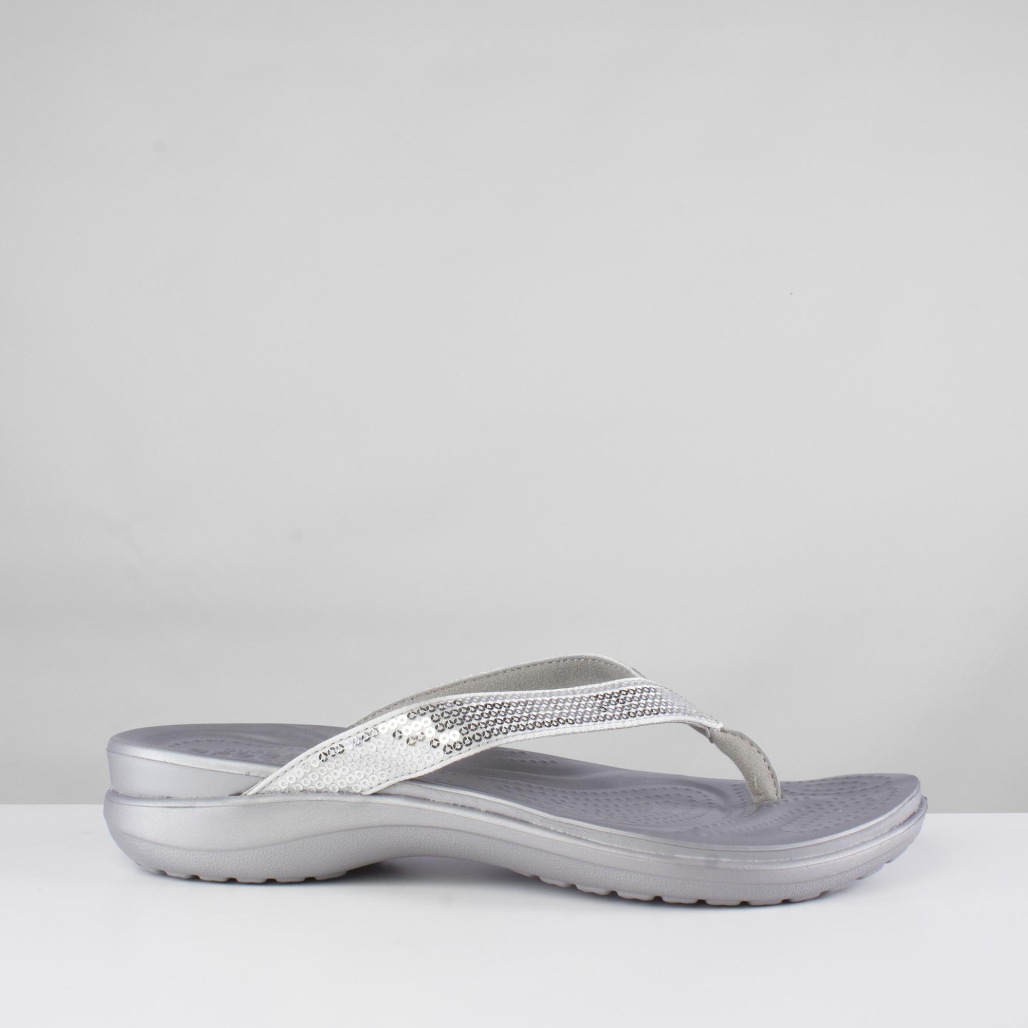 Crocs 204311 CAPRI V SEQUIN Flip Flops