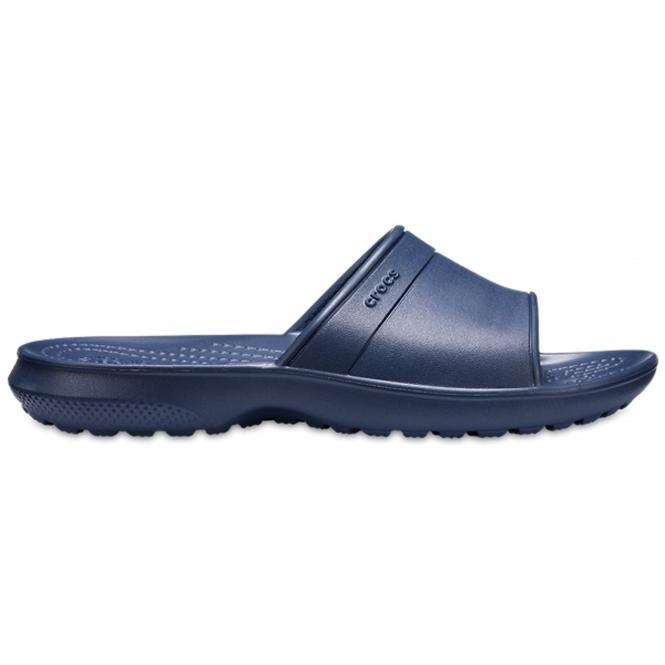 4427b7e0da10 Crocs 204981 CLASSIC SLIDE Kids Slide Sandals Navy