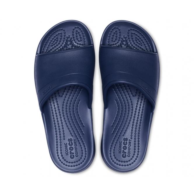 fd3a6c9ba1 Crocs 204981 CLASSIC SLIDE Kids Slide Sandals Navy