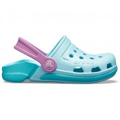 3dad53466 Crocs 204991 ELECTRO III CLOG Ice Blue Pool