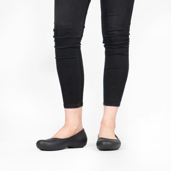 Crocs 205074 AT WORK FLAT Shoes Black