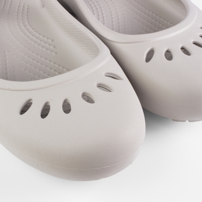 fd76e30e676 Crocs 205077 KADEE SLINGBACK Shoes Platinum