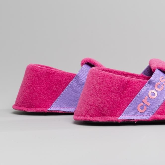 a0510b22ff2 Crocs 205349 CLASSIC SLIPPER Kids Slippers Candy Pink