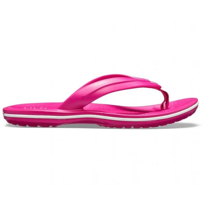 Crocs 205778 CROCBAND FLIP Girls Flip Flops Pool Toe Post Sandals Candy Pink
