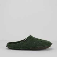 CLASSIC SLIPPER Unisex Mule Slippers Forest Green/Oatmeal