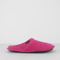 CLASSIC SLIPPER Womens Mule Slippers Candy Pink/Oatmeal