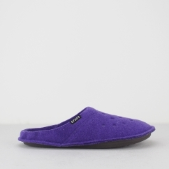 CLASSIC SLIPPER Womens Mule Slippers Ultraviolet/Oatmeal
