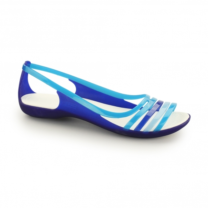ISABELLA FLAT Ladies Sandals Cerulean Blue/Turquoise