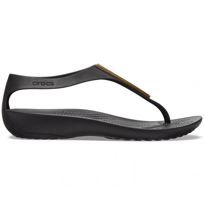 Crocs SERENA METALLIC BAR 206420 Ladies