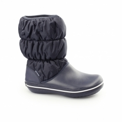 WINTER PUFF BOOT Womens Snow Boots Navy