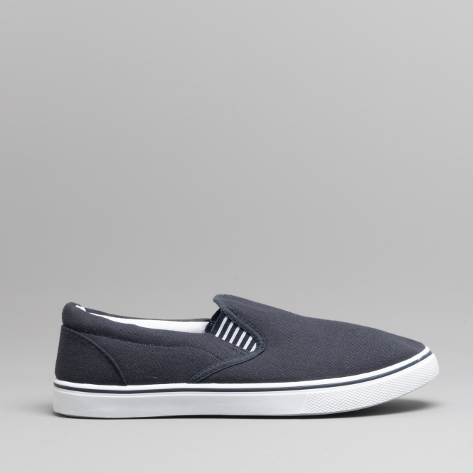 efcaa8ea8f DEK LAMAAR Unisex Mens Ladies Canvas Yachting Deck Shoes Navy Blue | Shuperb