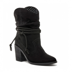 DEPUTY Ladies Boots Black