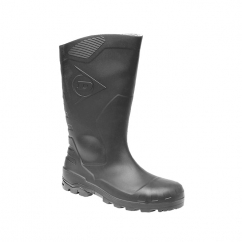 DEVON Unisex S5 Full Safety Wellington Boots Black