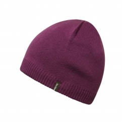 SOLO Unisex Waterproof Beanie Hat Purple