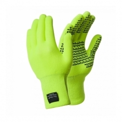 TOUCHFIT Unisex Waterproof Gloves Hi-Vis Yellow