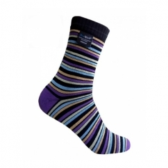 ULTRAFLEX Unisex Ankle Waterproof Socks Multi Stripe