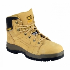 "DIMEN 6"" Mens Lace-Up SB SRB Steel Safety Boots Honey"