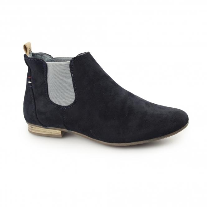 e722385e980 PISA Ladies Suede Chelsea Boots Navy