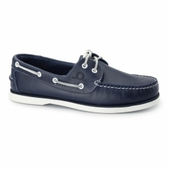 DOCKSIDER 2 G2 Mens Leather Boat Shoes Navy