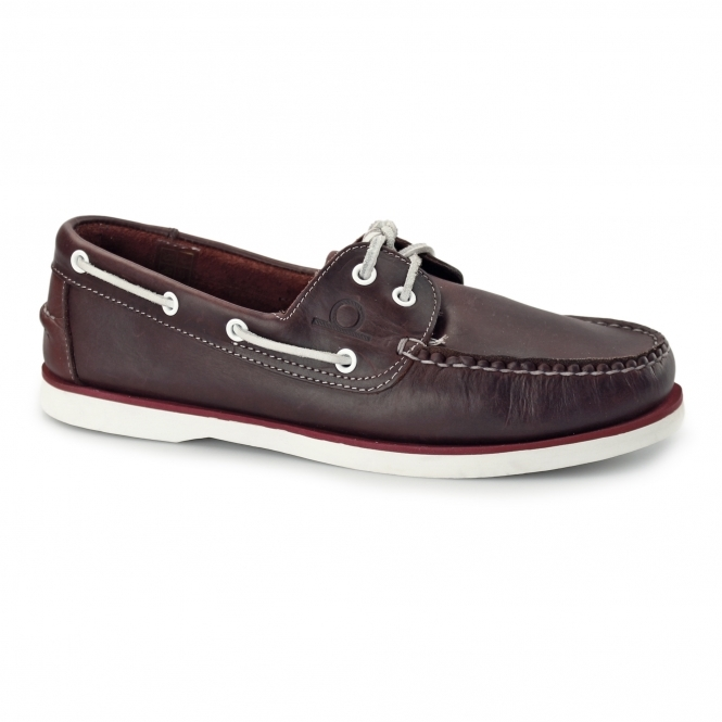 Chatham DOCKSIDER 2 G2 Mens Leather Boat Shoes Red