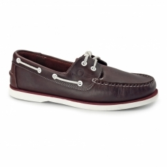 DOCKSIDER 2 G2 Mens Leather Boat Shoes Red