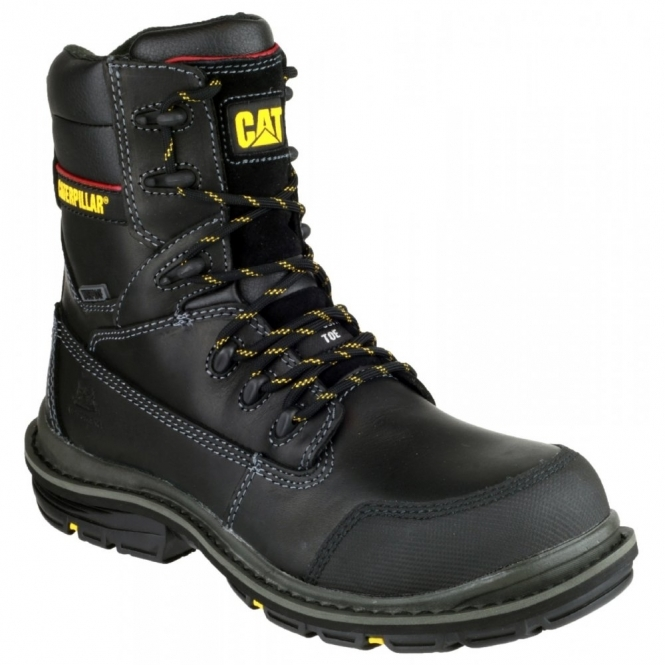 Cat ® DOFFER Mens Waterproof Safety Boots Black