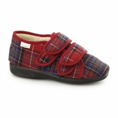 ANNIE Ladies Full Slippers Red