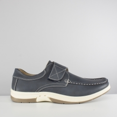 ANT Mens Touch Fasten Casual Shoes Navy