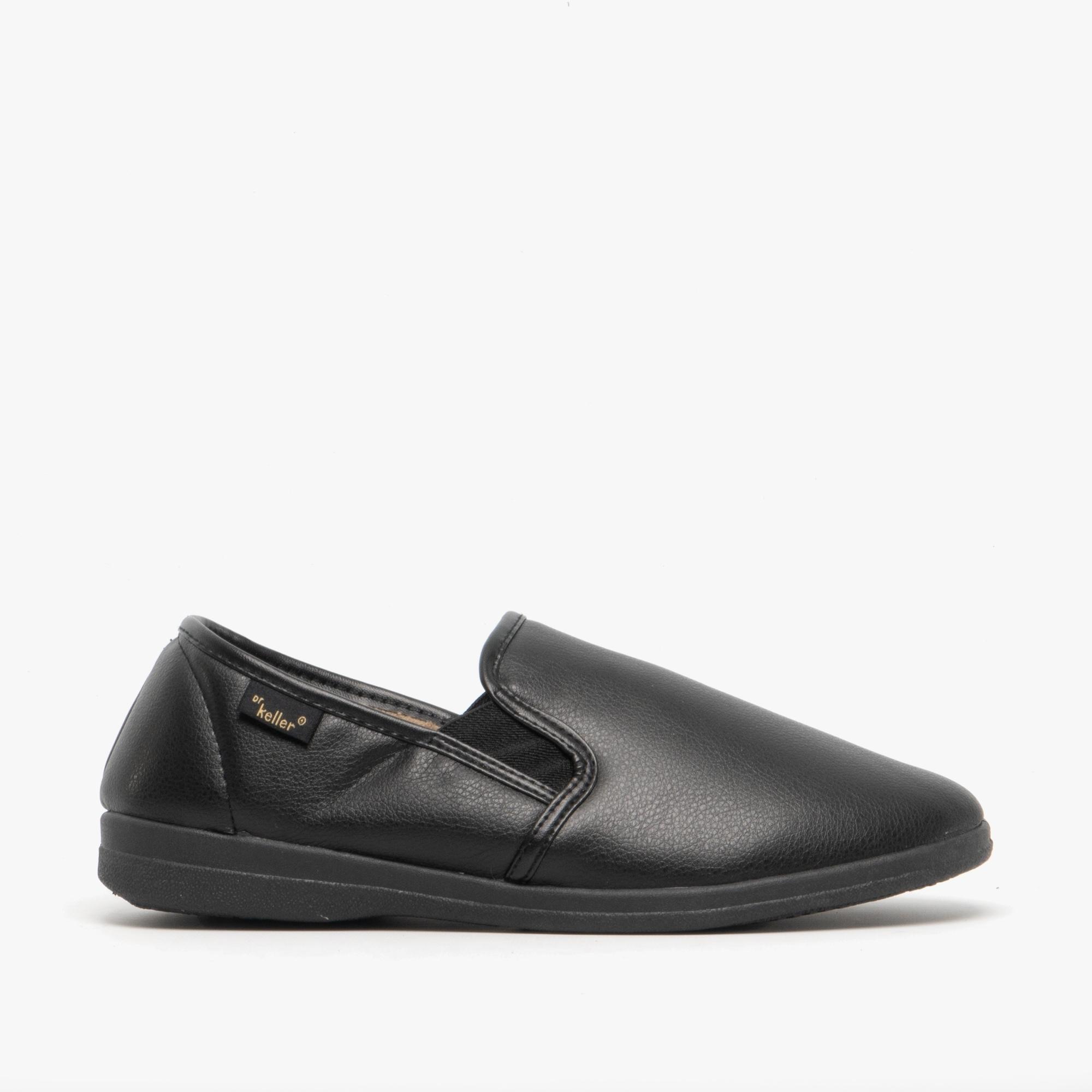 Dr Keller Mens Leather Wide Fit Sandal