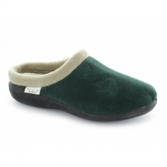 MARTHA Ladies Mule Slippers Green