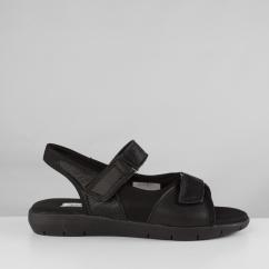 fcc8c37ab99cd Dr Keller MOIRA FLEX Ladies Touch Fasten Sandals Black