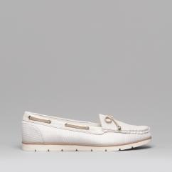2344d6dd006 Dr Keller PIPA Ladies Canvas Deck Shoes Beige