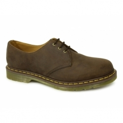 1461z Unisex Leather Casual Shoes Oily Brown