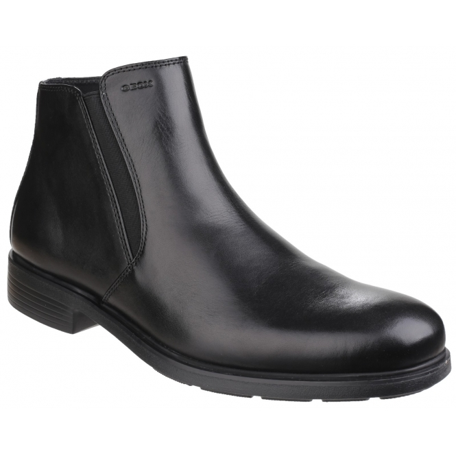 a few days away variety design cheap prices DUBLIN Mens Leather Chelsea Boots Black