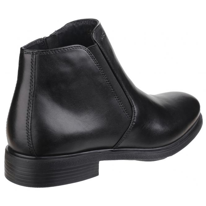 new arrival a239c 86f40 DUBLIN Mens Leather Chelsea Boots Black
