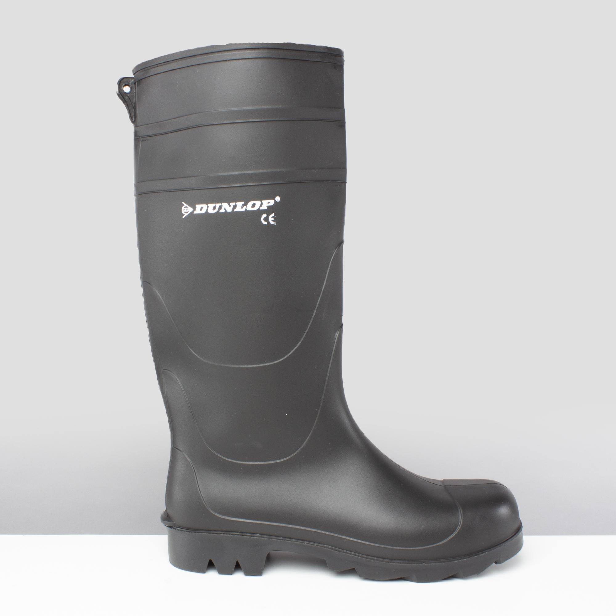 d6657e67a763 Dunlop UNIVERSAL Mens Wellies Wellington Boots Black