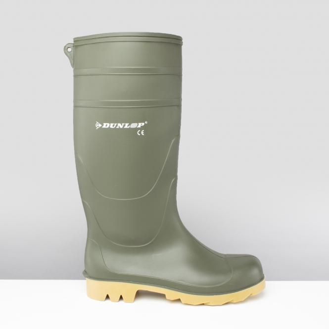 8b1b4d73677a Dunlop UNIVERSAL Mens Wellies Wellington Boots Black