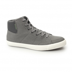 DUNMORE Mens Canvas Hi-Tops Castlerock