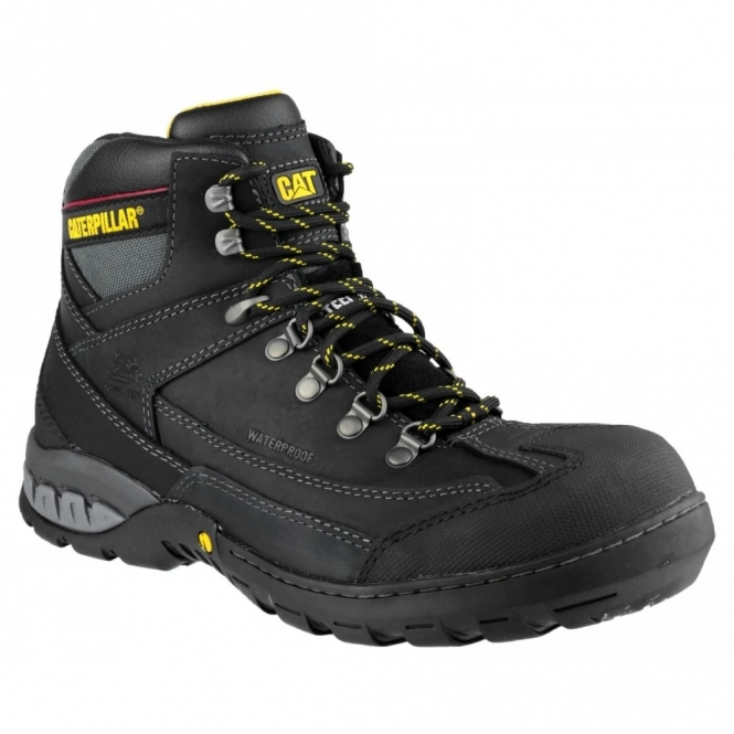 Cat ® DYNAMITE Mens Oil Resistant Safety Boots Black