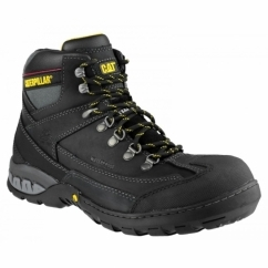 DYNAMITE Mens Oil Resistant Safety Boots Black